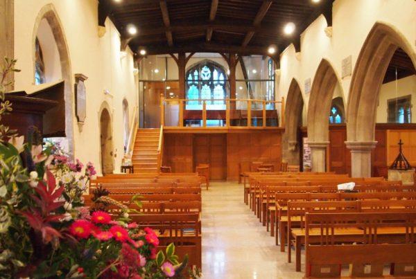St Peter St Pauls Church Interior Architecture LBC